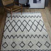 west elm Kasbah Wool Rug - Ivory