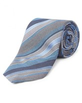 Jaeger Silk Multi Stripe Tie