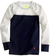 J.Crew Girls' rash guard in colorblock