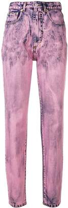 Fiorucci two tone skinny jeans