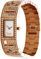 Dolce & Gabbana Women's DW0288 Gold Gold Tone Stainles-Steel Quartz Watch with Dial