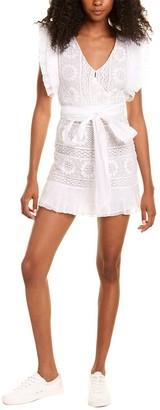 LoveShackFancy Brynn Mini Dress