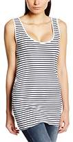 Ripe Maternity Women Tube Tank Striped Sleeveless Vest Top