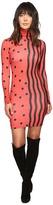 House of Holland Jersey Swiggle Midi Dress