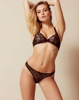 Agent Provocateur Gina Thong Black And Gold