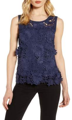 Halogen Lace Tank Top