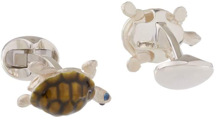 Deakin & Francis Walking Tortoise Cufflinks