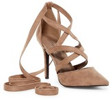 Breckelle's Isabel Lace-Up Pump