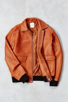 Wood Wood Dean Leather Jacket