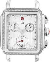 Michele Women's MW06P01L1001 Deco Analog Display Swiss Quartz Silver Watch Head