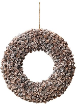 Broste Copenhagen - Pinecone Deco Wreath - Brown
