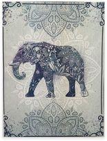 Graham & Brown Boho Elephant Canvas Wall Art