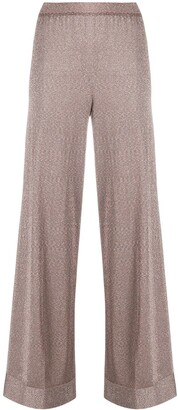 Missoni High-Waisted Wide Leg Trousers