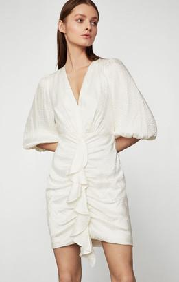 BCBGMAXAZRIA Ruched Mini Dress