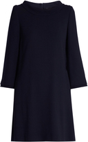 Goat Dawn round-neck wool-crepe dress