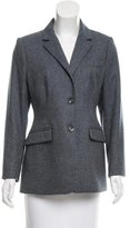 Loro Piana Cashmere Button-Up Blazer