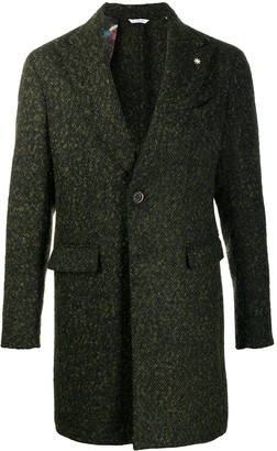 Manuel Ritz Worsted Wool Single-Breasted Coat