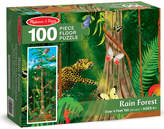 Melissa & Doug Rain Forest Floor 100Pc Puzzle