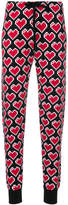 Love Moschino heart print trousers
