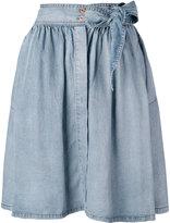Diesel pleated skirt - women - Lyocell - 27