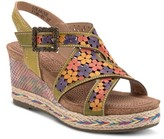 Spring Step L'artiste By Lolarose Wedge Sandal