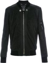 Philipp Plein skull print jacket - men - Sheep Skin/Shearling/Viscose - M