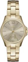 DKNY Eldridge Gray Dial Gold Tone Watch