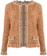Cecilia Prado knit cardigan - women - Acrylic/Lurex/Polyamide - M