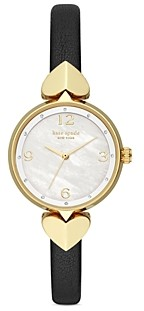 Kate Spade Hollis Mother-of-Pearl Dial Watch, 30mm