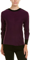 Joan Vass Silk & Cashmere-Blend Sweater