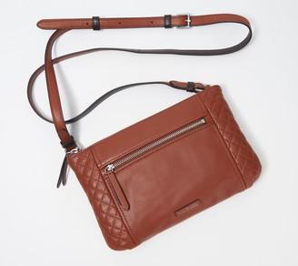 Vera Bradley Carry-All Small Leather Crossbody