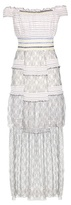 Peter Pilotto Striped Lace Dress