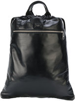Dolce & Gabbana drawstring backpack - men - Leather/Polyamide/Polypropylene - One Size