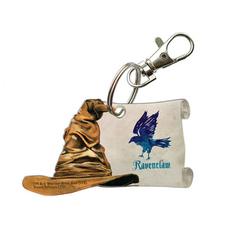 Trend Setters Ltd Key Chains - Harry Potter Ravenclaw Crest & Sorting Hat Key Chain