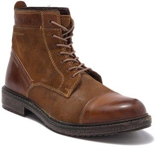ROAN Dustin Cap Toe Leather & Suede Boot