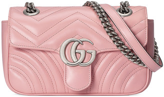 Gucci GG Marmont Bag in Wild Rose | FWRD