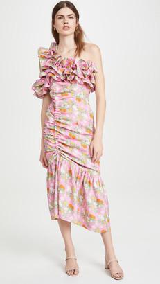 Viva Aviva Catalina Double Drawstring Ruffle Dress