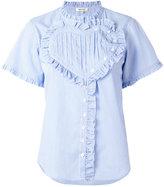 Manoush striped blouse - women - Cotton - 36