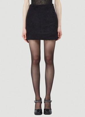 Our Legacy Textured Mini Skirt