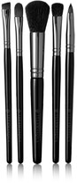 Illamasqua Set Of Five Makeup Brushes - Black
