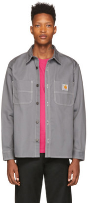 Carhartt Work In Progress Grey Denim Jac Shirt