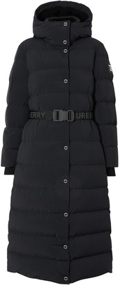 Burberry Hooded Puffer Coat