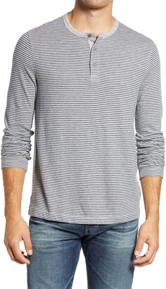 1901 Yarn Dye Stripe Henley