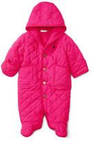 Ralph Lauren Childrenswear Corduroy Trim Microfibre Bunting