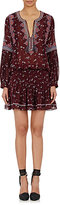 Ulla Johnson Women's Embroidered Gita Dress-BURGUNDY