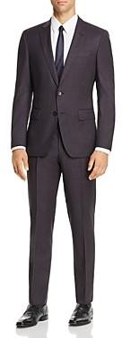 BOSS Huge/Genius Check Slim Fit Suit - 100% Exclusive