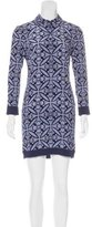 Diane von Furstenberg Sorrel Silk Dress