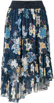 See by Chloe all-over printed midi skirt