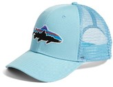 Patagonia Men's Fitz Roy Trout Trucker Hat - Blue
