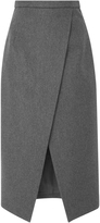Michael Kors Pressed Wool Scissor Skirt
